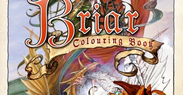 Colouring Book Cover Rough  19647  80425.1490097176 - The Briar Coloring Book Review