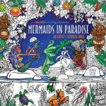 mermaids in paradise coloring book - Scandia: A Colouring Book Journey