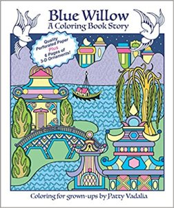 Blue Willow – A Coloring Book Story Coloring Book Review
