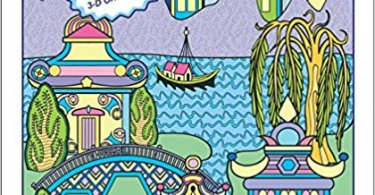 blue willow coloring book story review - Fantastic Zoo Coloring Book Review