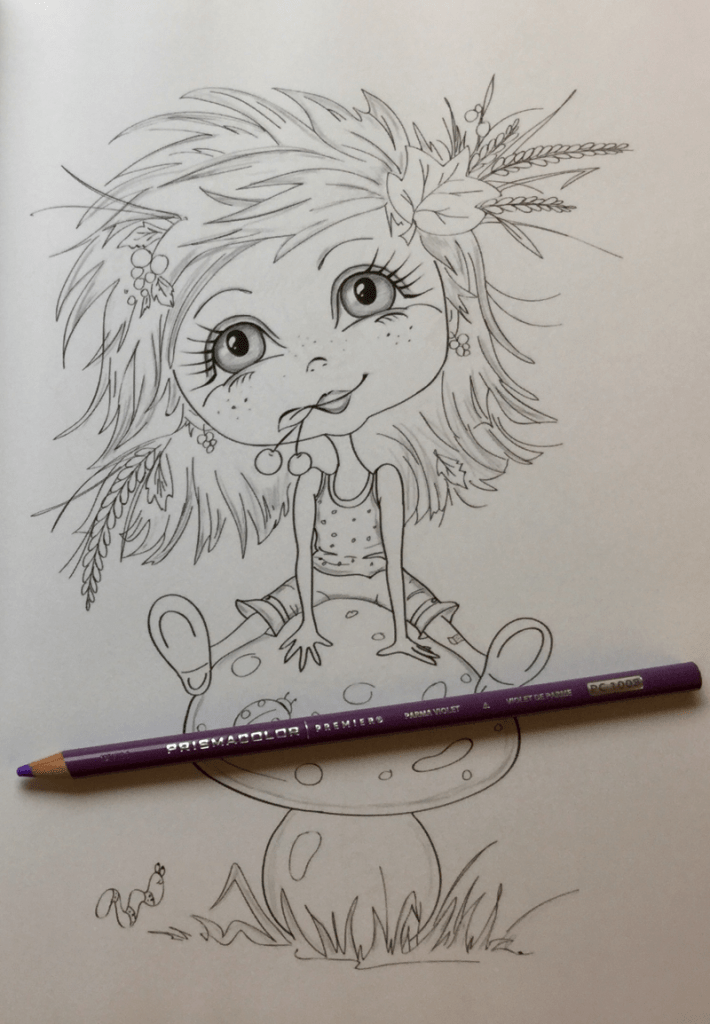 whimsical dreams coloring book review 710x1024 - Whimsical Dreams Coloring Book Review