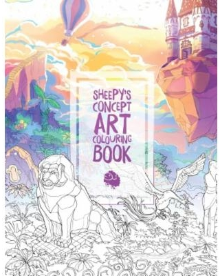 mrsuicidesheeps concept art colouring book - Coloring Books - New Releases - December - 2017