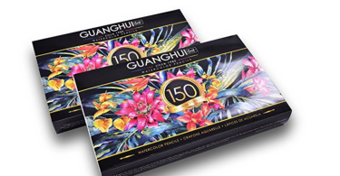 guanghuiwatercolor - Guang Hui  Watercolor Pencil Product Review