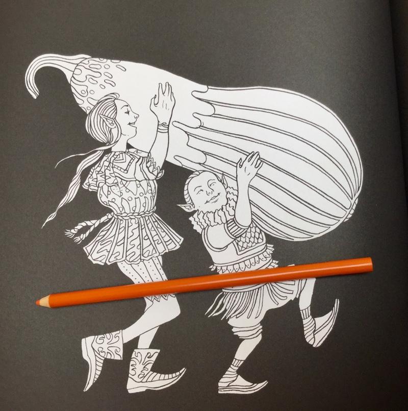 elves in wonderland marcos chin 4326 - Elves in Wonderland Coloring Book Review