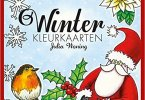 winterkleurkaarten - Winter Kleurkaarten Coloring Cards Review