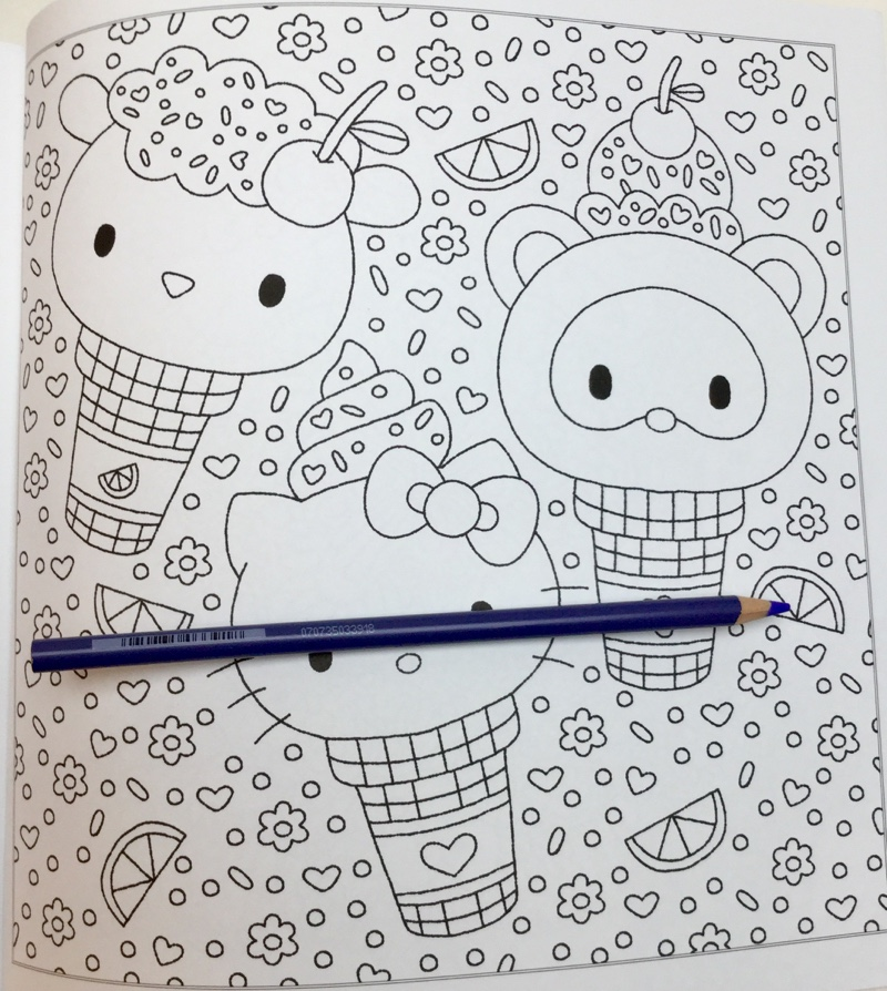 hello kitty and friends coloring book 4357 - Hello Kitty and Friends  Coloring Book Review