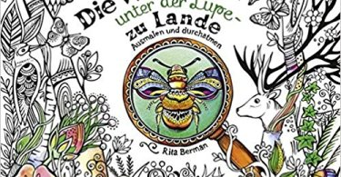 die welt under der lupe zu lande - Forest Girl's  Coloring Book Review