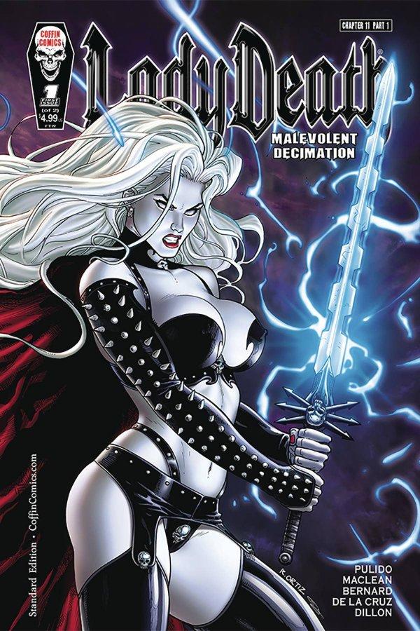 Lady Death Malevolent Decimation