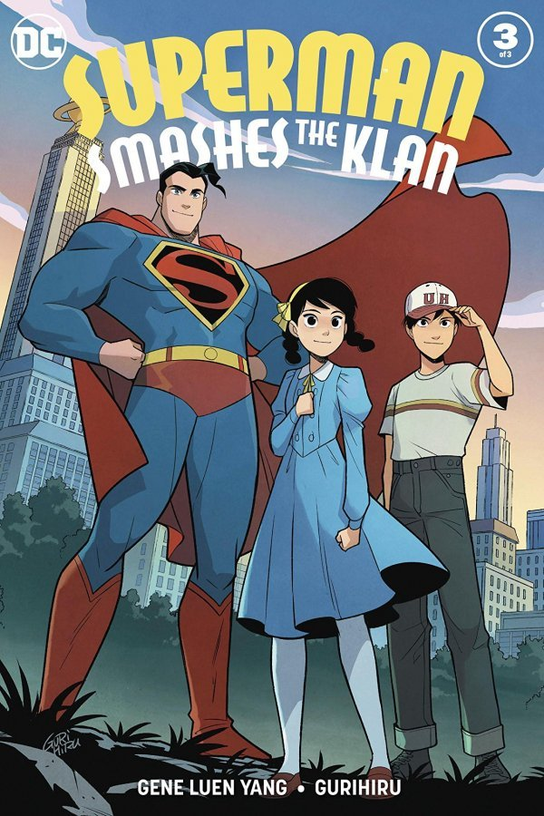 Image result for superman smashes the klan 3 cover