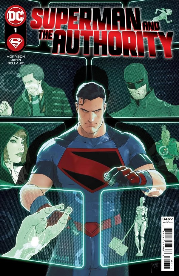 Superman and the Authority #1 Review | The Aspiring Kryptonian
