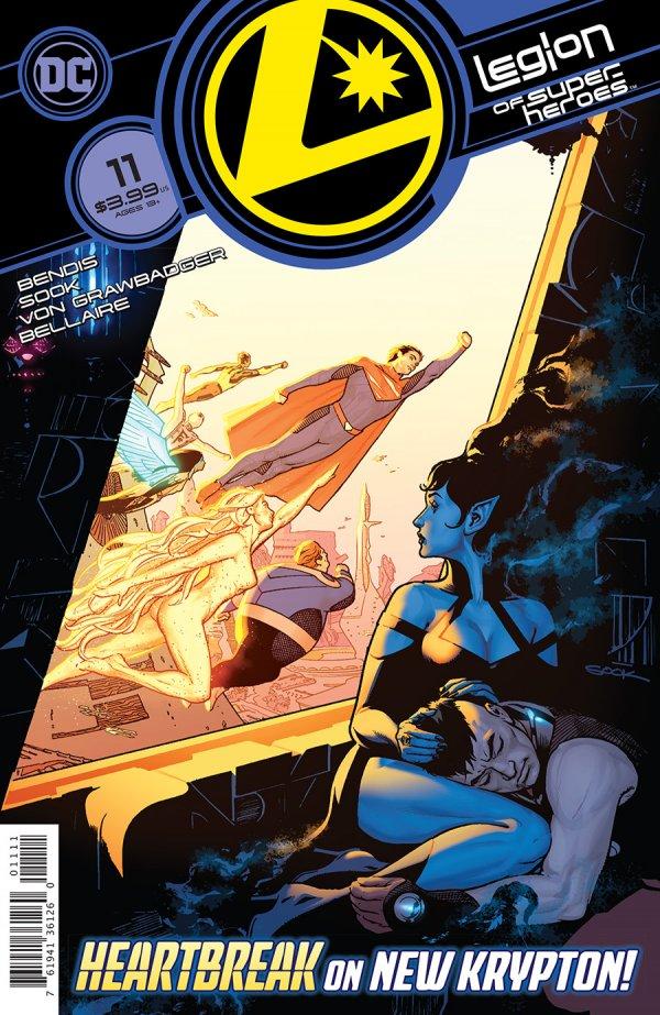 Legion of Super-Heroes #11 Review | The Aspiring Kryptonian