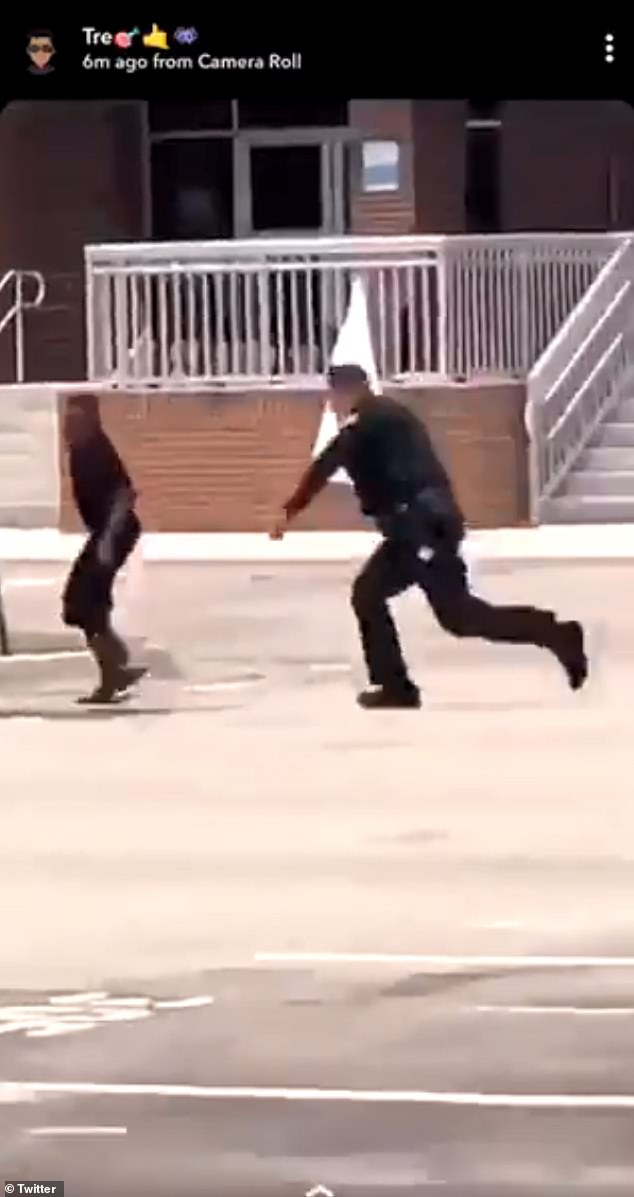 The video of the incident showing the St. Lucie County Sheriff's deputy taking down the sixth grader outsideLincoln Park Academy in Fort Pierce on April 9 has gone viral