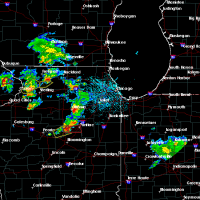 Radar Image for Severe Thunderstorms near Joliet, IL at 5/23/2020 2:11 PM CDT