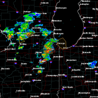 Radar Image for Severe Thunderstorms near Joliet, IL at 5/23/2020 3:25 PM CDT