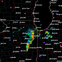 Radar Image for Severe Thunderstorms near Joliet, IL at 6/10/2020 8:17 AM CDT