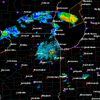 Radar Image for Severe Thunderstorms near Joliet, IL at 6/22/2020 12:55 PM CDT