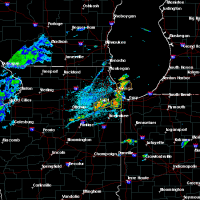 Radar Image for Severe Thunderstorms near Joliet, IL at 6/22/2020 1:46 PM CDT