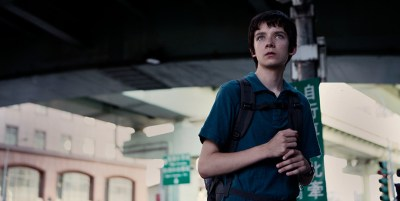 Asa Butterfield plays an autistic maths prodigy in X+Y