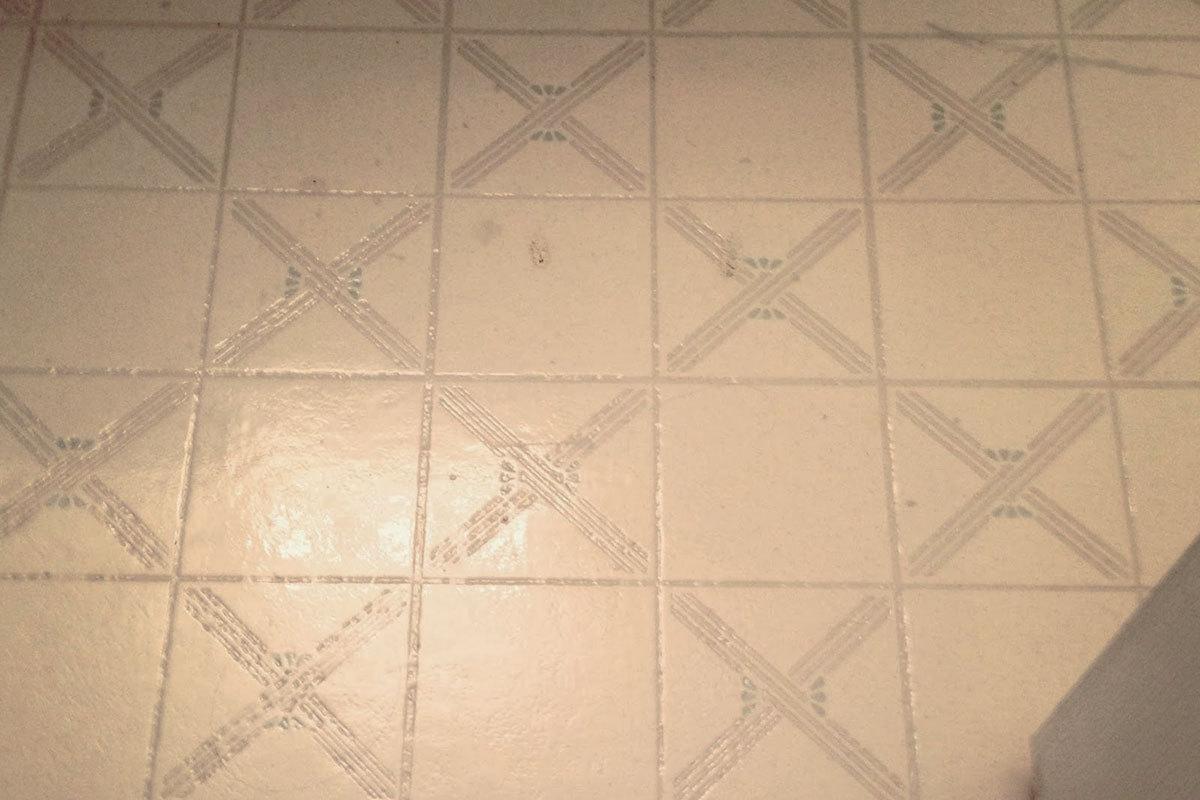 painting vinyl and linoleum floors
