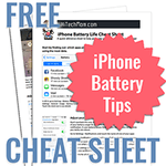 Iphone battery cheat sheet icon 200
