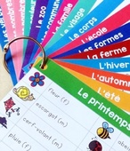 For french immersion mini word wall free
