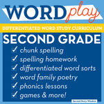 Word play cover second