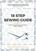 18 step sewing guide