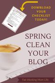 Spring clean your blog with free checklist 683x1024