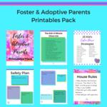 Foster   adoptive parents printables pack insta