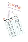 Meal idea printables