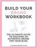 Branding workbook cover