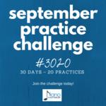 September practice challenge