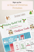 12 days ofchristmas printables pinterest