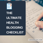 Health blogging checklist (1)