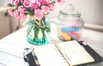 Flowers desk office vintage hd nature images beauty for women good smells for windows fresh air colorful plant love sign 1600x1024 768x492