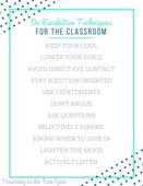 Building teacher morale