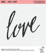 Love cut file