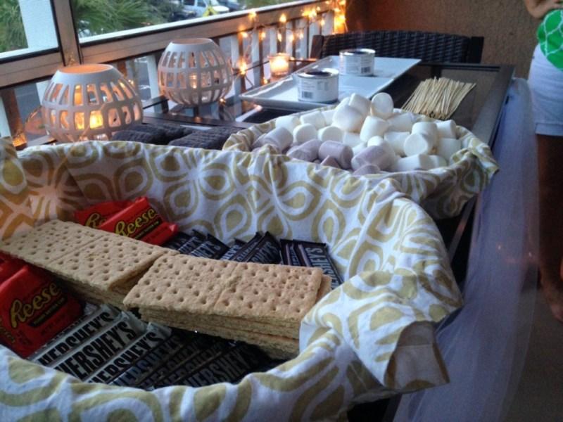 DIY Home Smores Bar