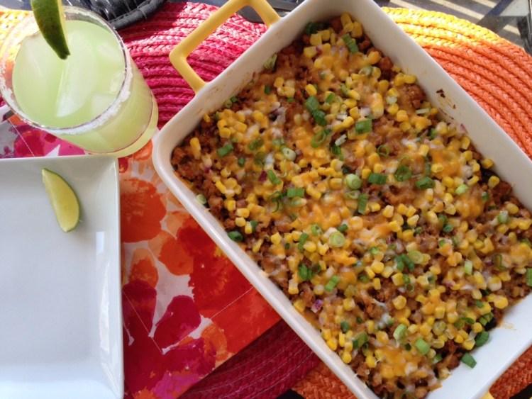 easy burrito bowl casserole