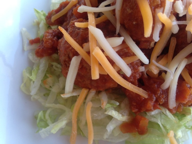 Healthy Turkey Taco Meatballs