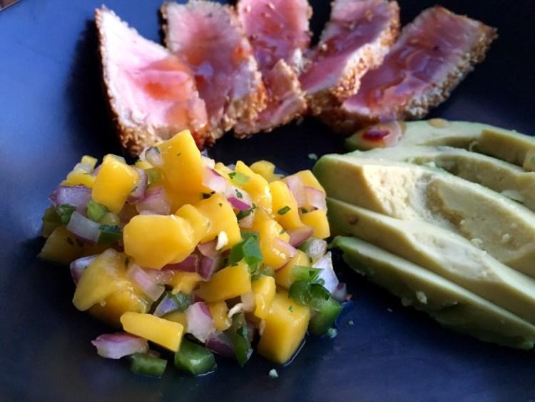 Sesame Crusted Seared Tuna