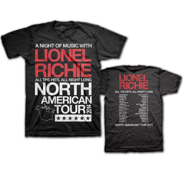 Lionel Richie 2014 Tour Tee