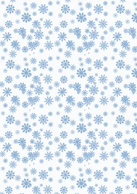 Christmas Snowman Snowflake Backing Paper CUP4811385