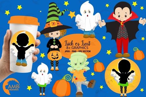 Halloween Clipart Halloween Costume Clipart Vampire Clipart Witch Clipart Ghost Clipart Frankenstein Clipart Amb 2260 Cup932121 83483 Craftsuprint