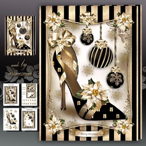 Ladies Christmas Elegant Shoes Mini Kit CUP7494961641