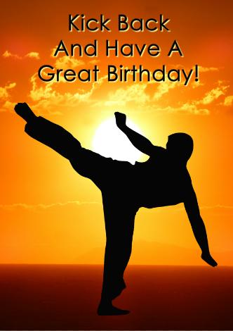 Sport Birthday Card Creator