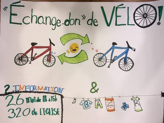 Échange de vélo – Verdun