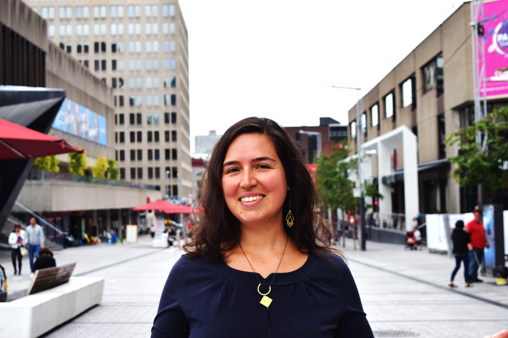 Portrait d'une bénévole de Demain Verdun : Tania Gonzalez