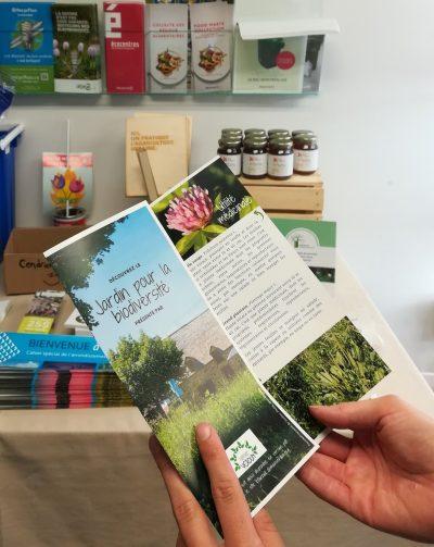Le Projet citoyen du Jardin pour la biodiversité prend forme !