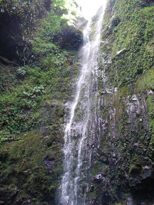 Closer Up Waterfall
